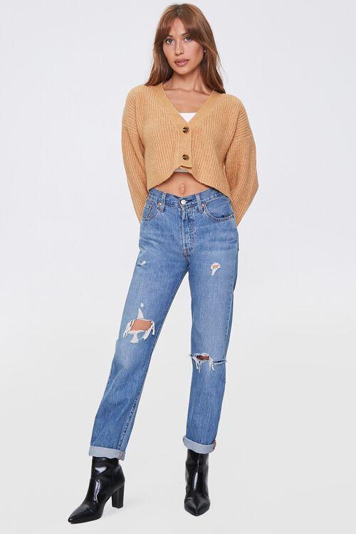 Cropped Cardigan Sweater, image 4