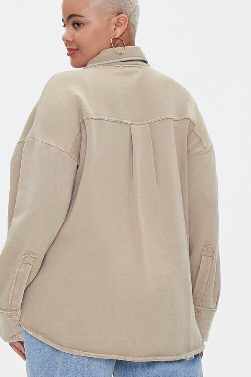 Plus Size Chest-Pocket Jacket, image 3