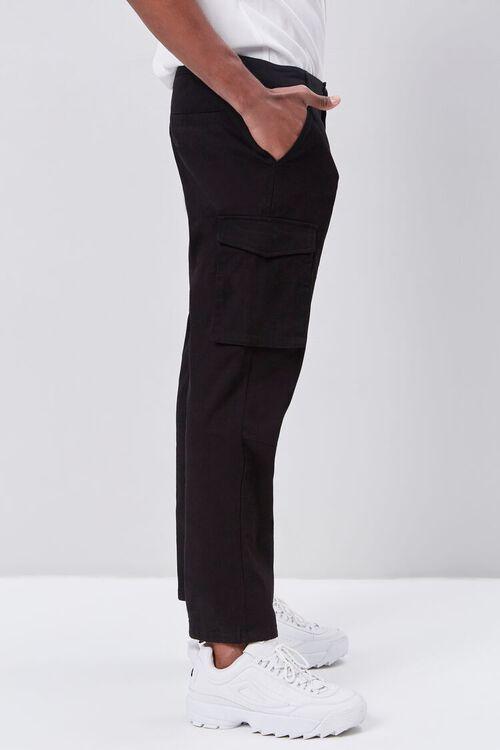 Self-Tie Jogger Cargo Pants, image 3
