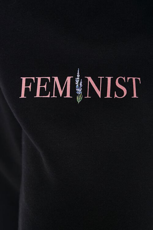 Feminist Fleece Joggers, image 5