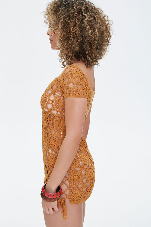 Crochet Swim Cover-Up Dress, image 2