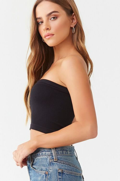 Seamless Cropped Tube Top, image 2