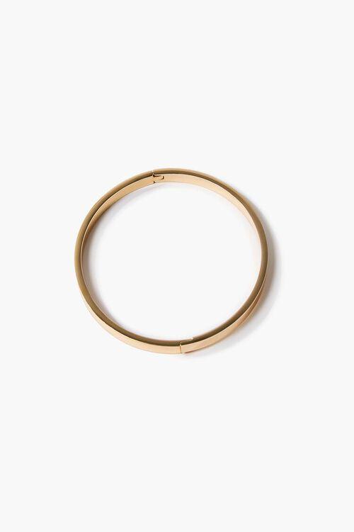 GOLD Metal Bangle Bracelet, image 1