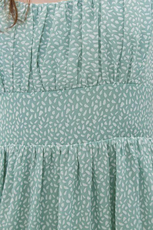 Spotted Print Cami Midi Dress, image 6