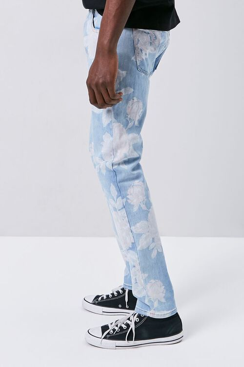 Rose Print Skinny Jeans, image 2