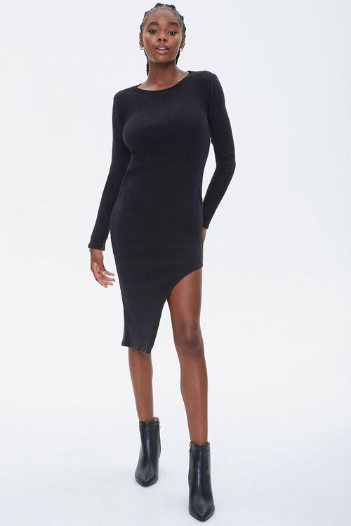 Asymmetrical Bodycon Dress, image 1
