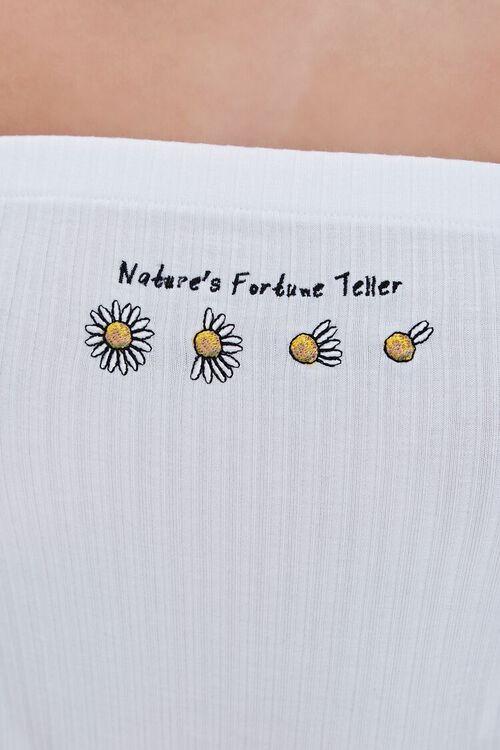 WHITE/MULTI Nature Graphic Tube Top, image 2