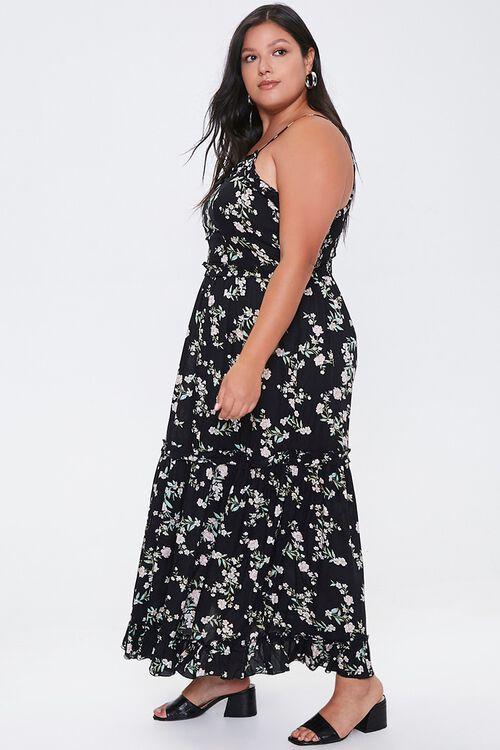Plus Size Floral Maxi Dress, image 2