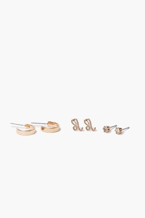 Zodiac Stud Earring Set, image 1