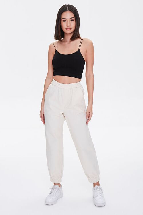 CREAM Smocked Ankle Joggers, image 1