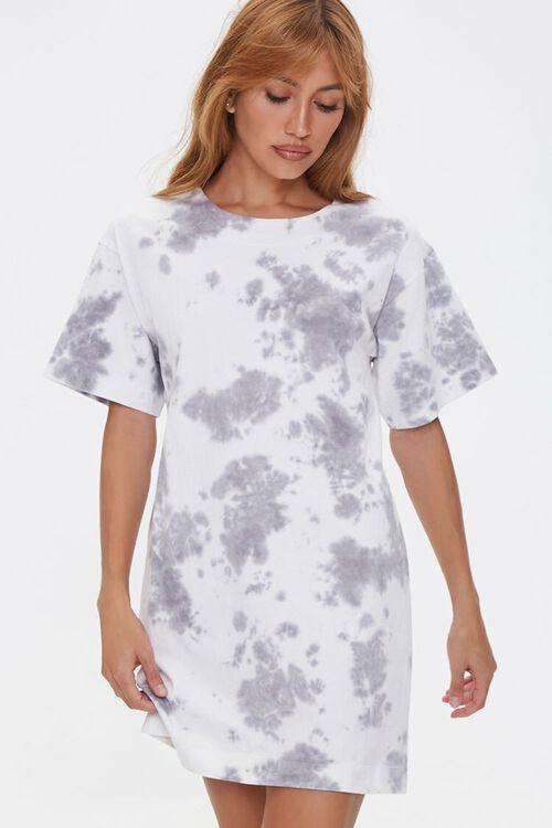 Tie-Dye Cutout T-Shirt Dress, image 2