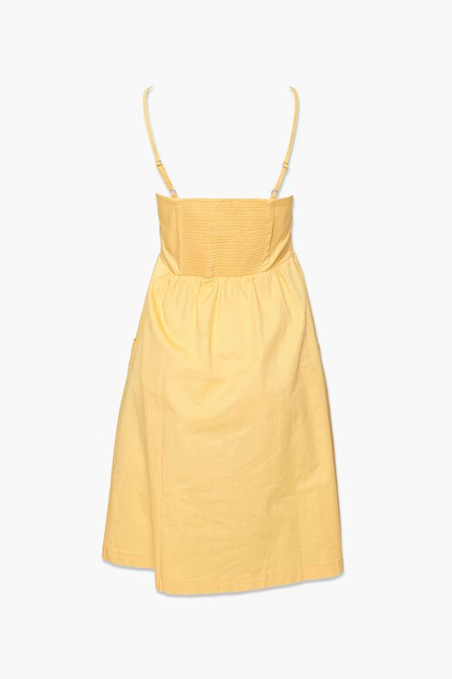Button-Front Fit & Flare Dress, image 3