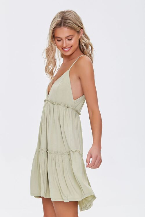 Tiered Fit & Flare Cami Dress, image 2