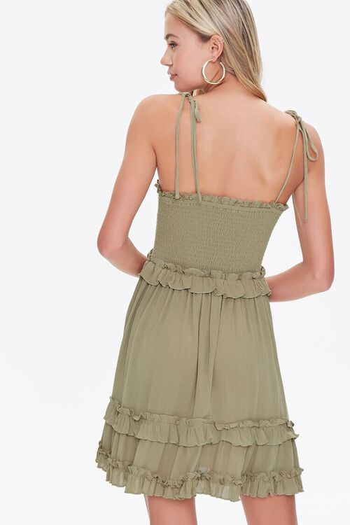 Ruffle-Trim Cami Dress, image 3