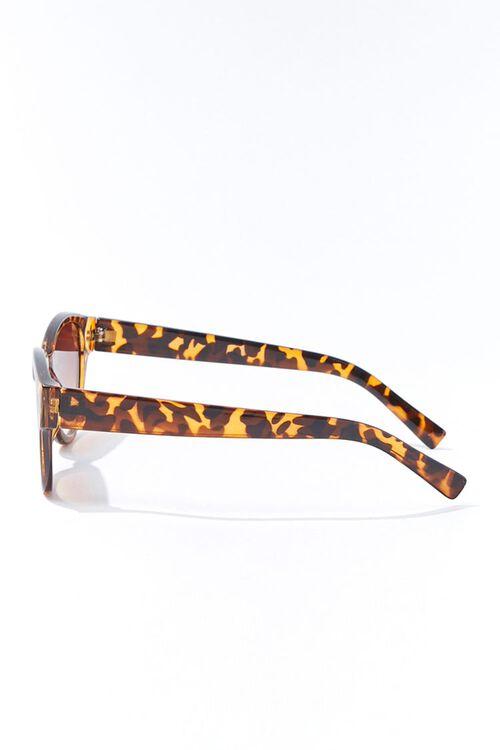 Tortoiseshell Oval Gradient Sunglasses, image 2