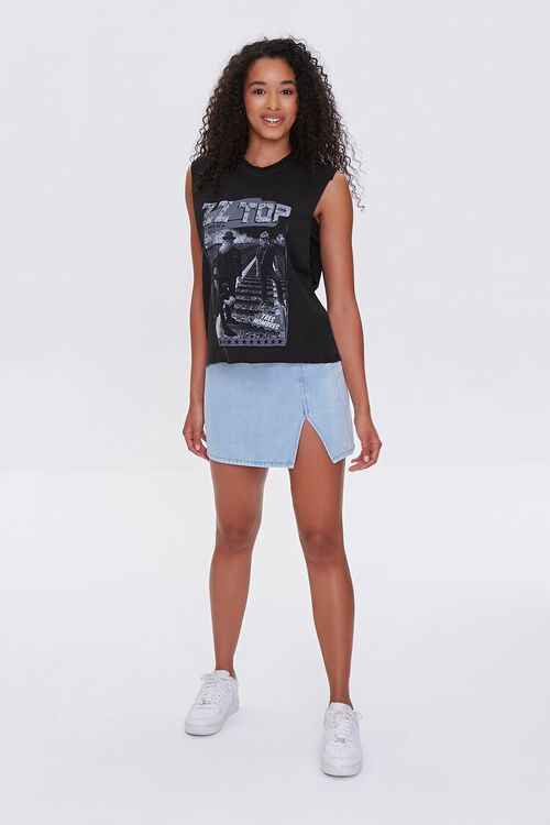 ZZ Top Graphic Muscle Tee, image 4