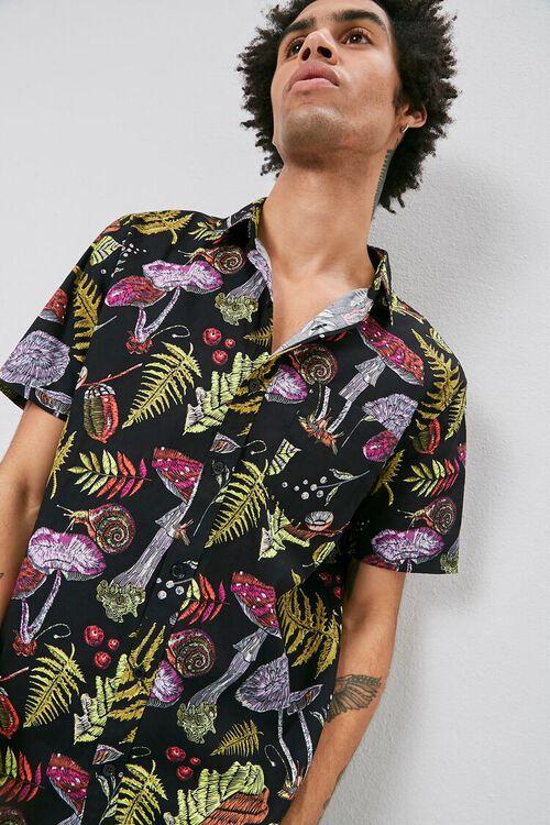 Mushroom Print Shirt, image 6