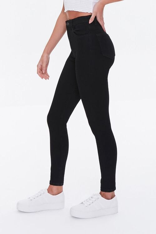 High-Waisted Skinny Jeans, image 3