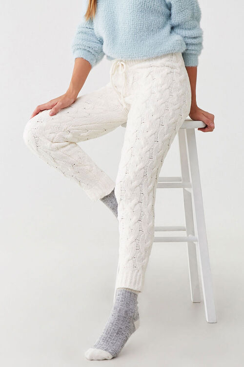 Cable-Knit Ankle Pants, image 5