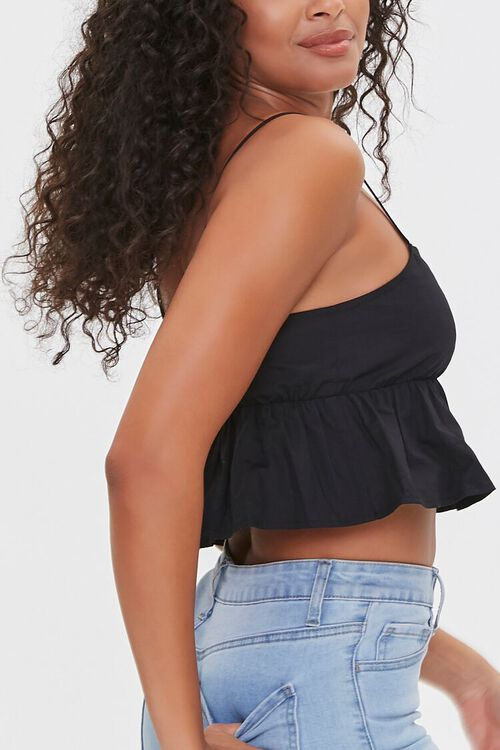 Flounce Cropped Cami, image 2