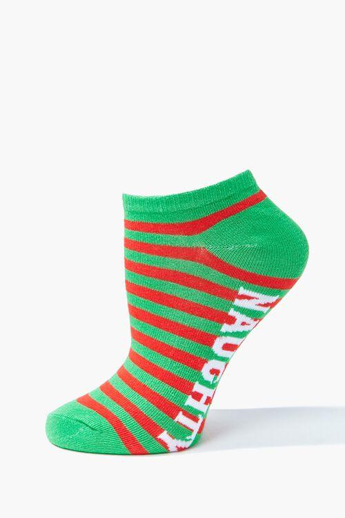 Naughty Or Nice Ankle Socks, image 2