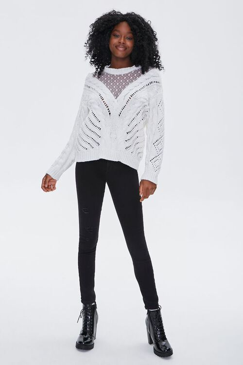 Illusion Mesh Sweater, image 4
