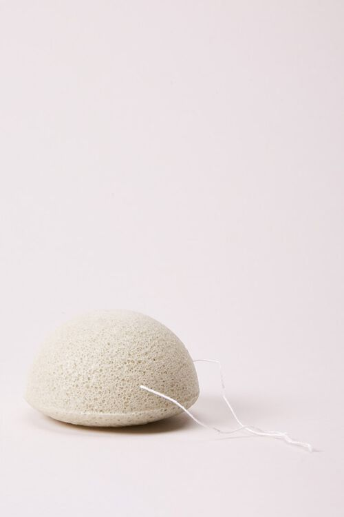 Konjac Cleansing Sponge with Complexion Clearing Clay, image 1