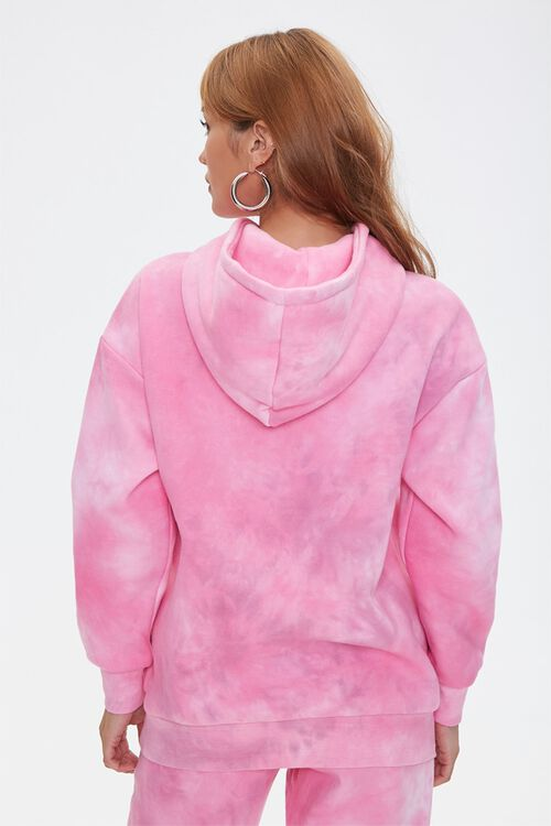 PINK/MULTI Tie-Dye Barbie™ Hoodie, image 4