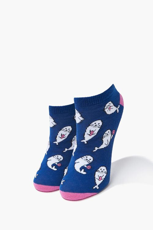 Seal Ankle Socks, image 1