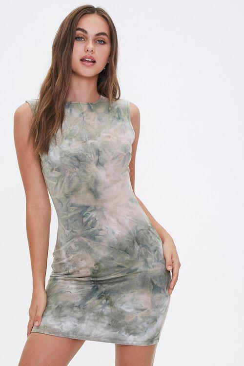 Tie-Dye Sleeveless Dress, image 1