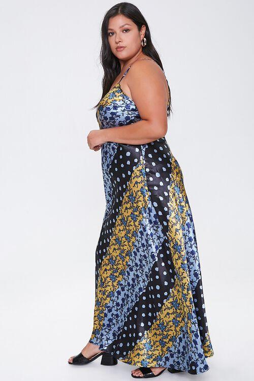 Plus Size Patchwork Maxi Dress, image 2