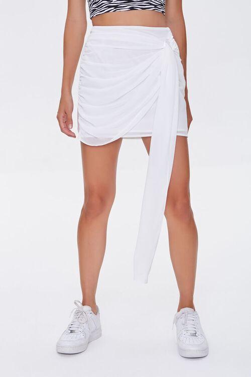 Draped Mini Skirt, image 2