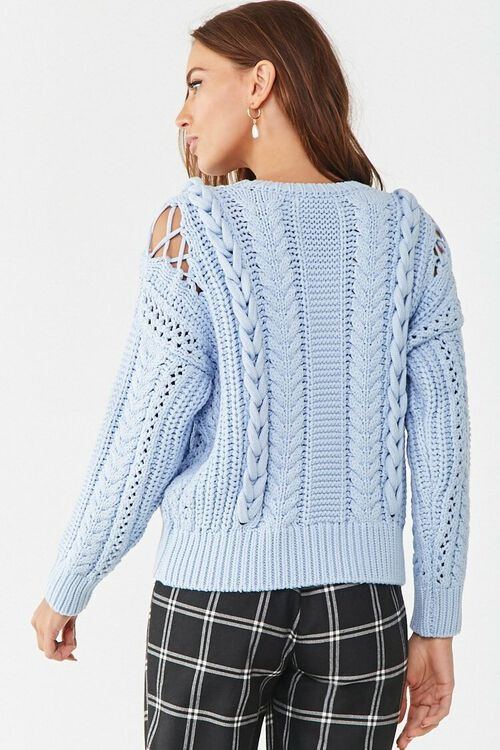 Cable Knit Sweater, image 3