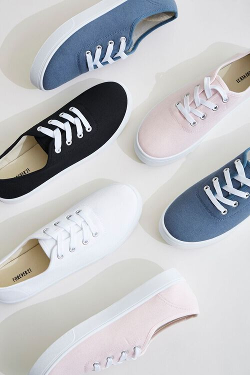 Canvas Low-Top Sneakers, image 1