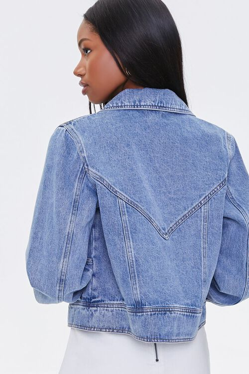 Double-Breasted Denim Jacket, image 4