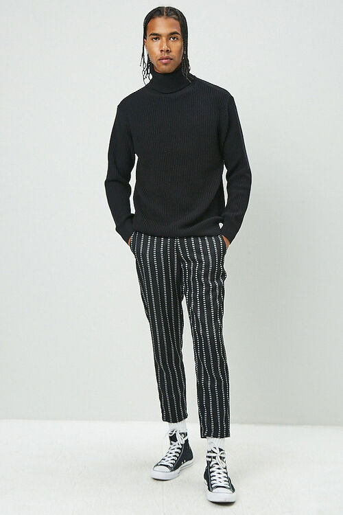 Ribbed Turtleneck Sweater, image 4
