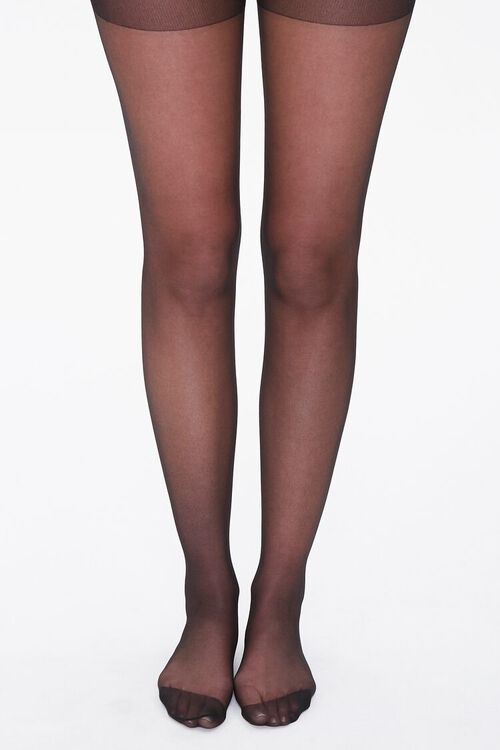 Plus Size Sheer Tights, image 4