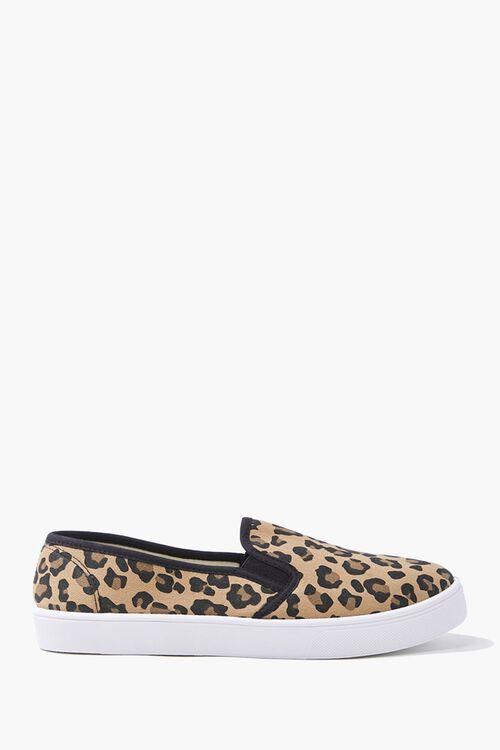 Leopard Print Slip-On Sneakers, image 1