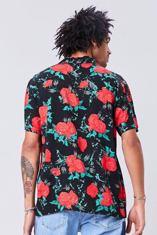 Classic Fit Rose Print Shirt, image 3