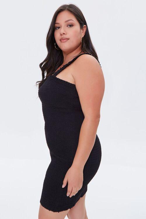 Plus Size Smocked Bodycon Dress, image 2