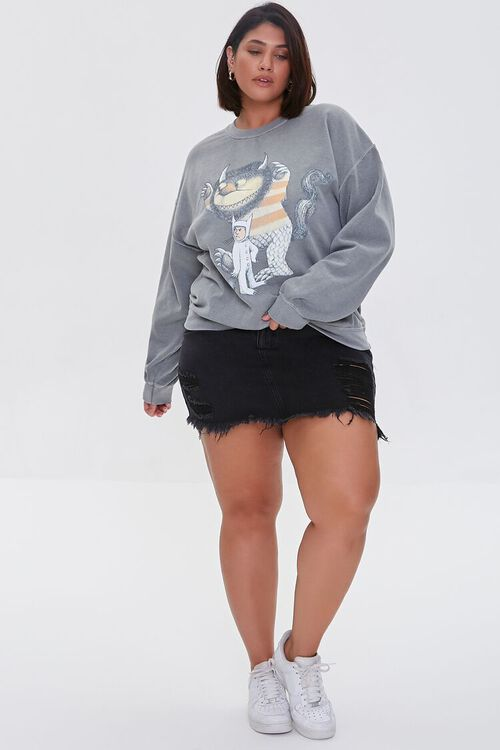 Plus Size Where the Wild Things Are Pullover, image 4