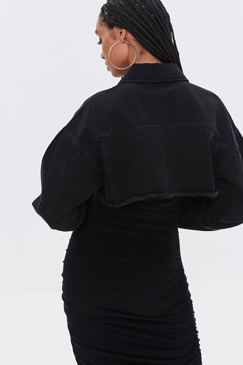 Cropped Denim Jacket, image 4