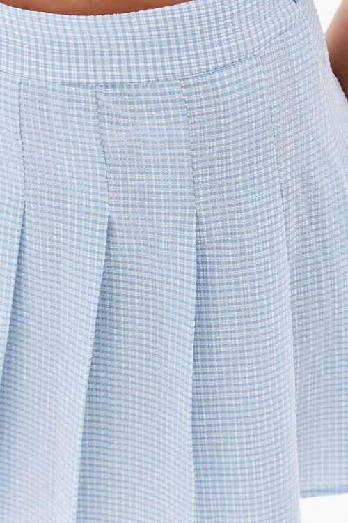 Plaid Pleated Mini Skirt, image 6