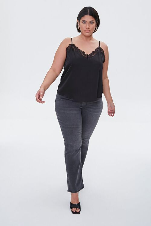 Plus Size Recycled Straight Jeans, image 1