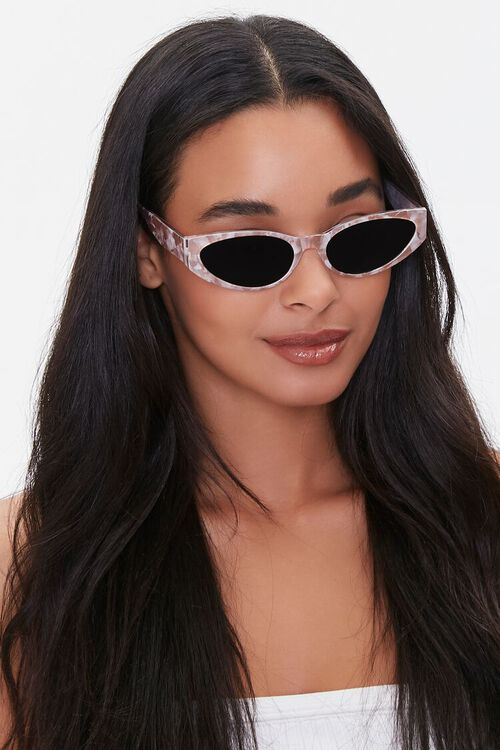 Marbled Oval Sunglasses, image 3