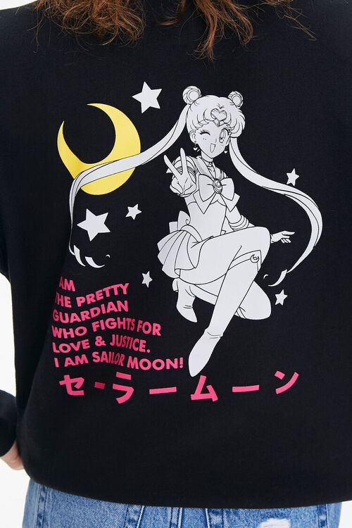 Sailor Moon Graphic Fleece Pullover, image 6