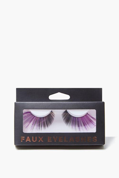 BLACK/MULTI Ombre Faux Eyelashes, image 2