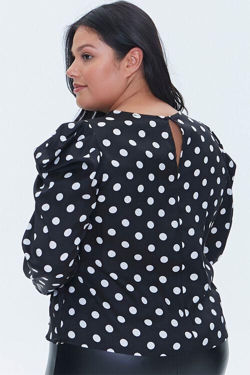 Plus Size Polka Dot Top, image 3