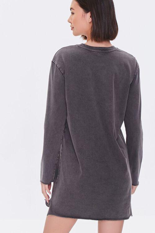 Long-Sleeve T-Shirt Dress, image 3