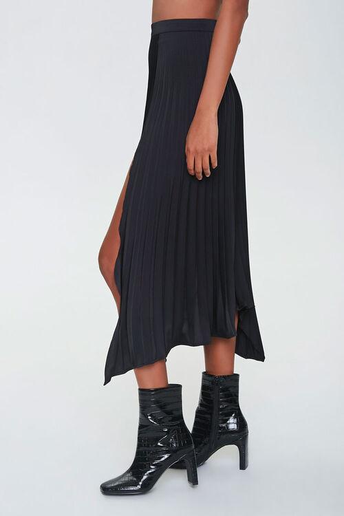Pleated Accordion Midi Skirt, image 3
